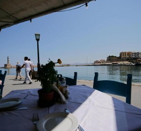 Amphora Restaurant - Old Venetian port - Chania - Crete