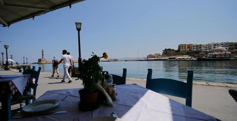 Amphora Restaurant - Old Venetian port - Chania - Crete