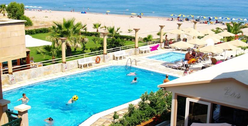 Odyssia Beach Hotel Rethymno Crete